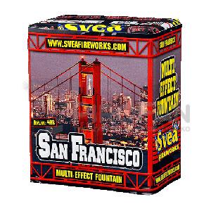 San Francisco wulkan 270 sek. Svea