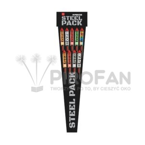 Steel Pack zestaw rakiet 9/16