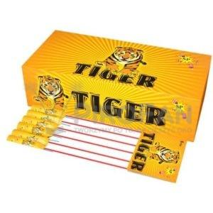 Tiger zestw rakiet 6 szt Super Power