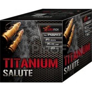 Titanium Salute 25s Piromax 18/1